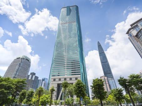 建筑位于深圳市深南东路5002号, 地王大厦55层, 罗湖区 1