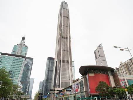 建筑位于深圳市益田路5033号, 平安金融中心85楼, 福田区 1