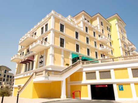 建筑位于DohaUnits 96-102 Piazza Level, QQ05A, Qanat Quartier, The Pearl, 301588 1