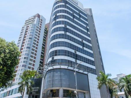 建筑位于Da Nang74 Bach Dang Street, 3rd floor, Indochina Riverside Office Tower, Hai Chau District 1