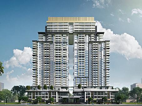 建筑位于Phnom PenhCASA by Meridian, Orient Tower, 2nd Floor, Unit A01 - 01 No. 1, Harvard Street, Diamond Island, Tonle Bassac, Chamkamorn 1