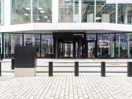 建筑位于BergenMedia City Bergen, Lars Hillesgate 30 1