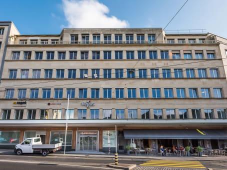 建筑位于LausannePlace de la Gare 12 1