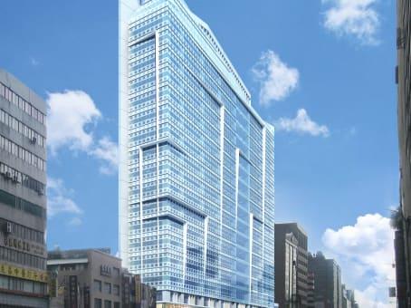 建筑位于台北市南京東路三段170號, 1樓、2 樓及 15樓 1