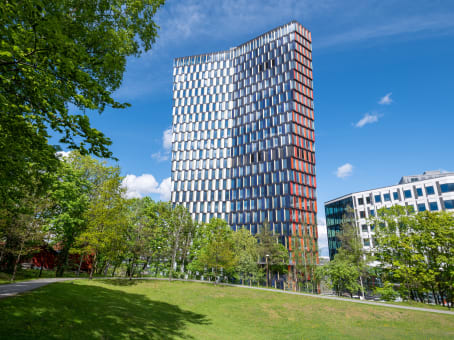 建筑位于StockholmHammarbybacken 27, Johanneshov 1