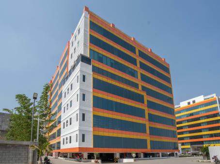 建筑位于CoimbatoreUdayampalayam Road, SF No.558/2, Block C, Hanudev Info Tech Park, Nava India 1