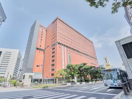 建筑位于Fukuoka1-4-1 Tenjin, 16F Nishinihon Shinbun Bldg (Tenjin Skyhall), Chuo-ku 1