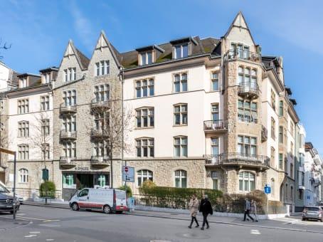 Gebäude in Dufourstrasse 49 in Zurich 1