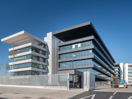建筑位于MadridVía de los Poblados, 1 1