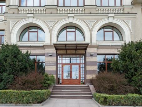 建筑位于Kyiv11 Sagaidachnogo 1