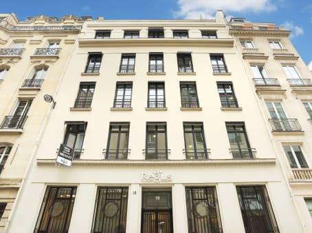 建筑位于Paris18 Rue Pasquier 1