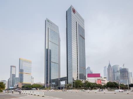 建筑位于广州市天河路208号, 粤海天河城大厦13层, 天河区 1